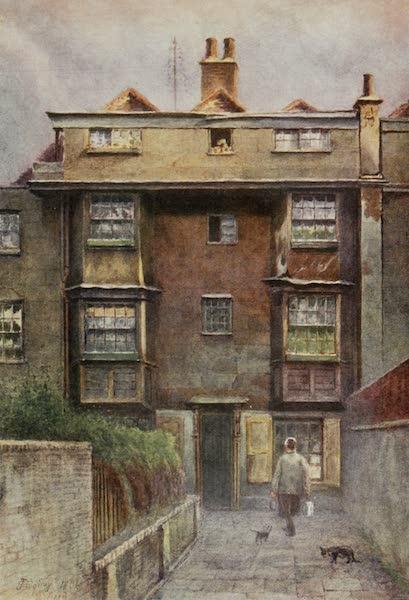 Relics & Memorials of London City - Tudor Houses, Neville's Court (1910)