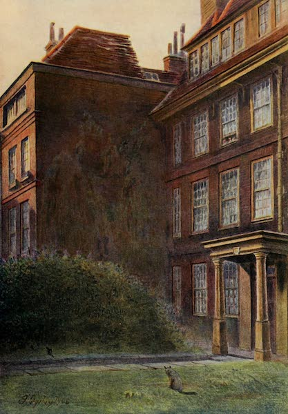 Relics & Memorials of London City - The &34;Great&34; House, Neville's Court (1910)