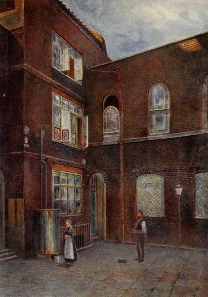 Relics & Memorials of London City - The Moravian Chapel (1910)