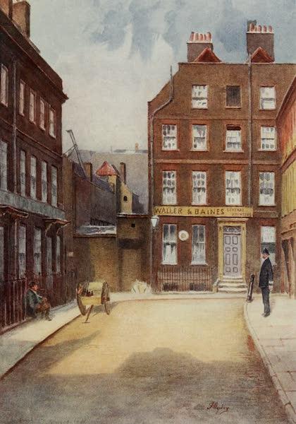 Relics & Memorials of London City - Dr. Johnson's House, Gough Square (1910)