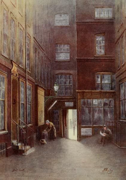 Relics & Memorials of London City - Bolt Court (1910)