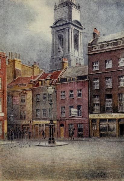 Relics & Memorials of London City - Salisbury Square (1910)