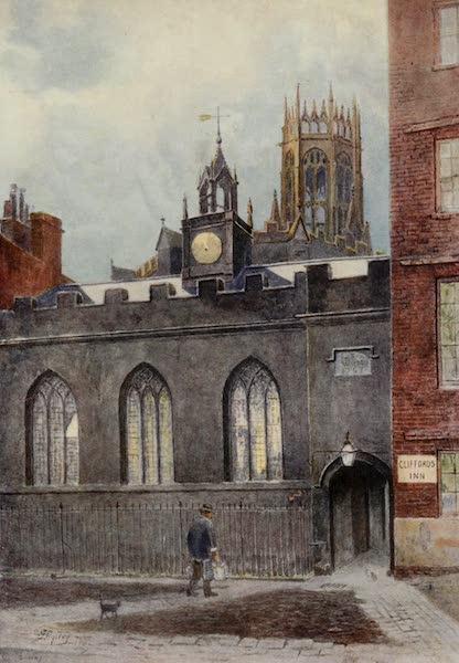 Relics & Memorials of London City - Hall of Clifford's Inn, and St. Dunstan's, Fleet Street (1910)