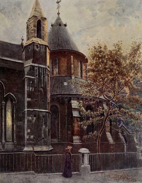Relics & Memorials of London City - The Temple Church (1910)