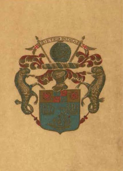 Relics of the Honourable British East India Company - Coat of Arms of the First East India Company (1909)