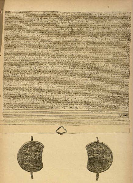 Relics of the Honourable British East India Company - (Sheet 2) Charter Granted by William and Mary (1909)