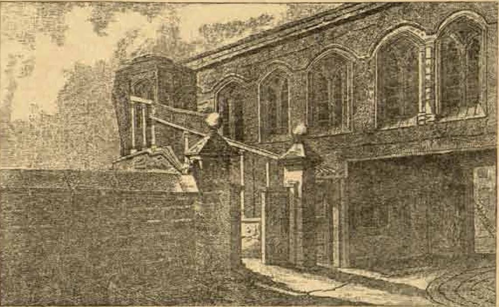 Relics of the Honourable British East India Company - Crosby House from an Old Print (1909)