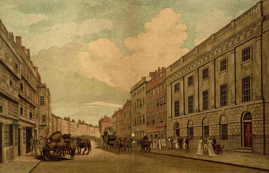 Relics of the Honourable British East India Company - The House Occupied by the East India Company in Leadenhall Street, as Refaced in 1726 (1909)