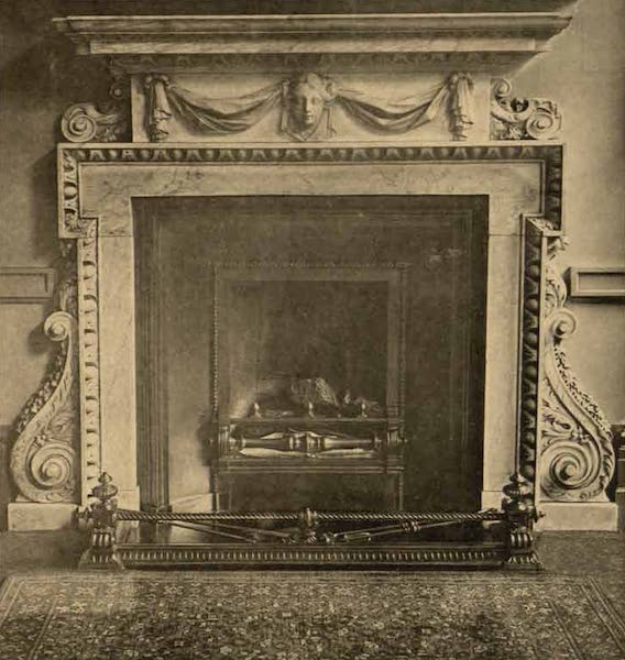 Relics of the Honourable British East India Company - Mantel Piece in the Finance Committee Room, India Office [I] (1909)