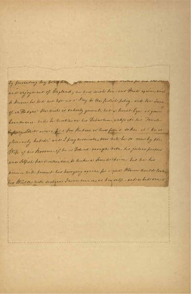 Relics of the Honourable British East India Company - A Letter from Eliza Draper, dated Tellicherry, April, 1769 [VII] (1909)