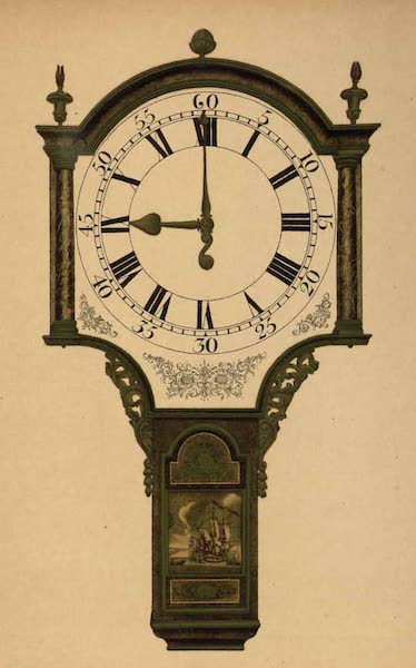 Relics of the Honourable British East India Company - An Old Clock formerly belonging to the Company (1909)