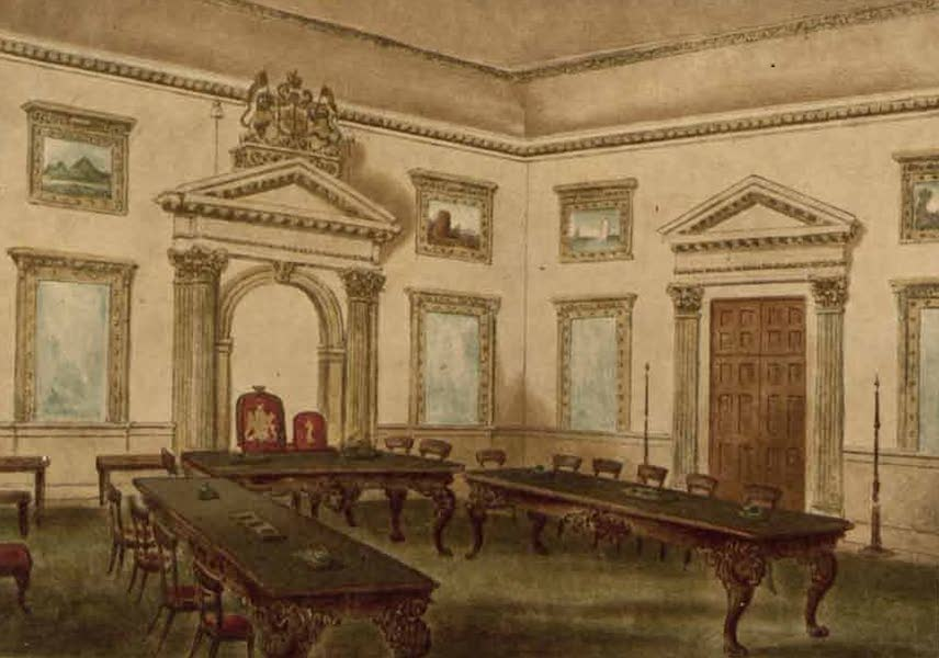 Relics of the Honourable British East India Company - The Director's Court Room (1909)