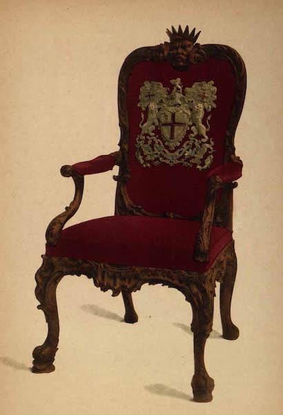 Relics of the Honourable British East India Company - The Chairman's Seat (1909)