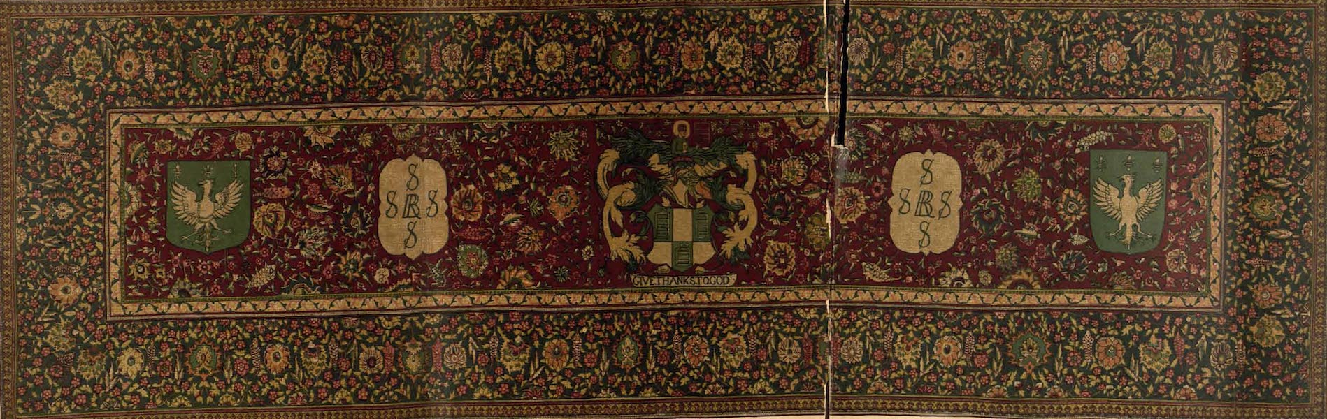 Relics of the Honourable British East India Company - The Girdler's Carpet (1909)