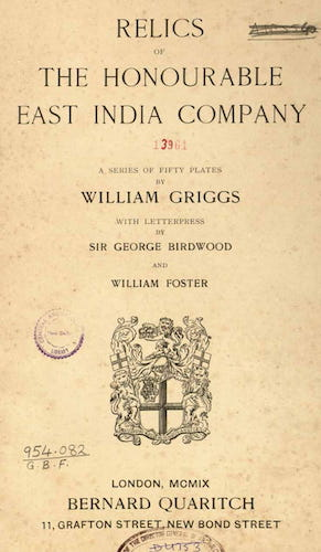 Travel & Scenery - Relics of the Honourable British East India Company