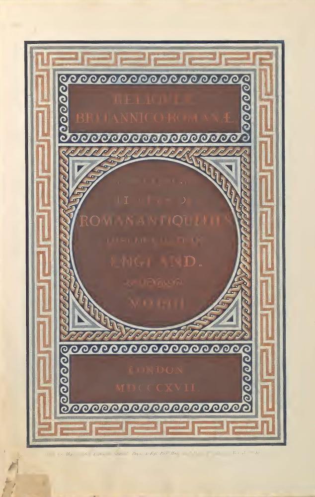 Archaeology - Reliquiae Britannico-Romanae Vol. 2