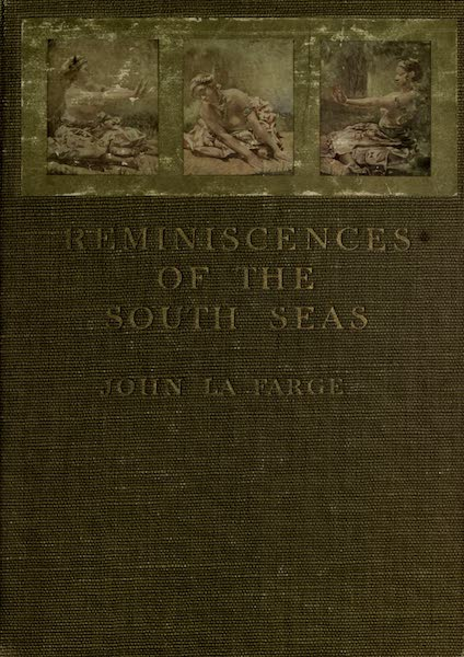 Reminiscences of the South Seas - Front Cover (1912)