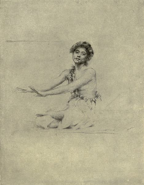 Reminiscences of the South Seas - Sifa Dancing the Sitting Siva (1912)