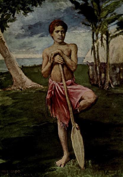 Reminiscences of the South Seas - The Boy, Sopo, Samoa (1912)