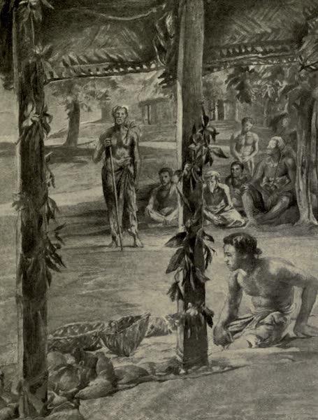 Reminiscences of the South Seas - Tulafales Speech Making Vao-Vao, Samoa (1912)