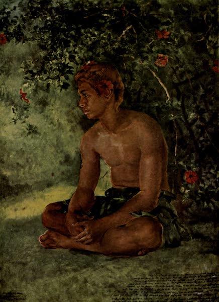 Reminiscences of the South Seas - Maua Study of One of Our Boat Crew, Apia, Samoa (1912)