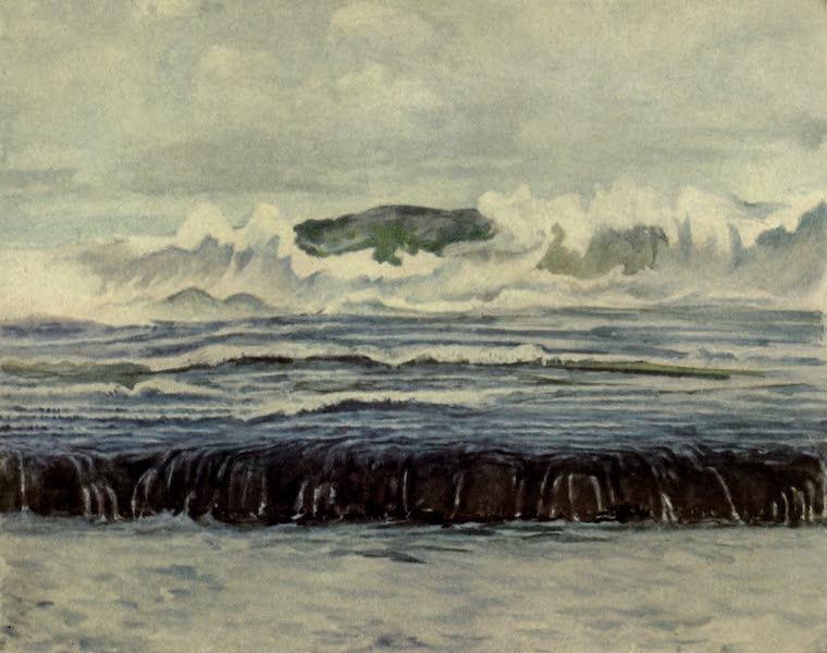 Reminiscences of the South Seas - Study of Sur Breaking on Outside Reef, Tautira, Taiarapu, Tahiti (1912)