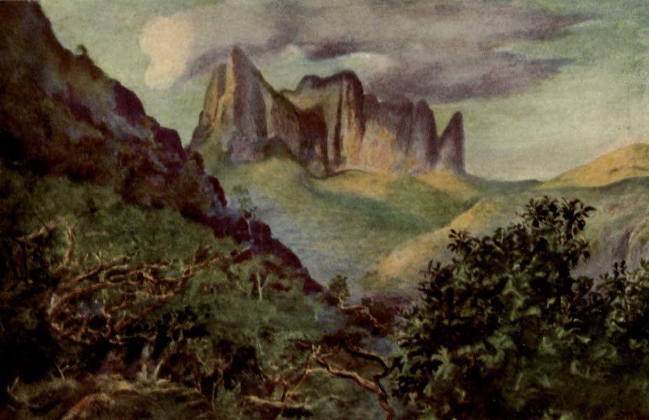 Reminiscences of the South Seas - The Diadem Mountain, Tahiti (1912)