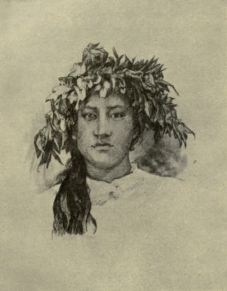 Reminiscences of the South Seas - Young Tahitian Girl (1912)