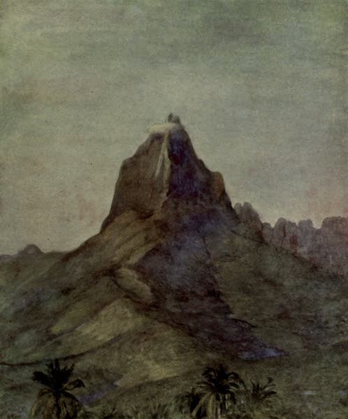 Reminiscences of the South Seas - Peak of Mauna Roa, Island of More, Society Islands, Tahiti (1912)
