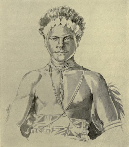 Reminiscences of the South Seas - Fijian Boy (1912)