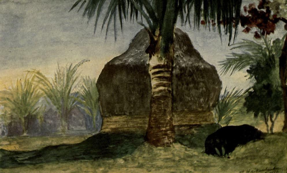 Reminiscences of the South Seas - Mountain Hut or House at Waikumbukumbu, Fiji (1912)