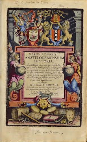 Latin - Rerum et Urbis Amstelodamensium Historia