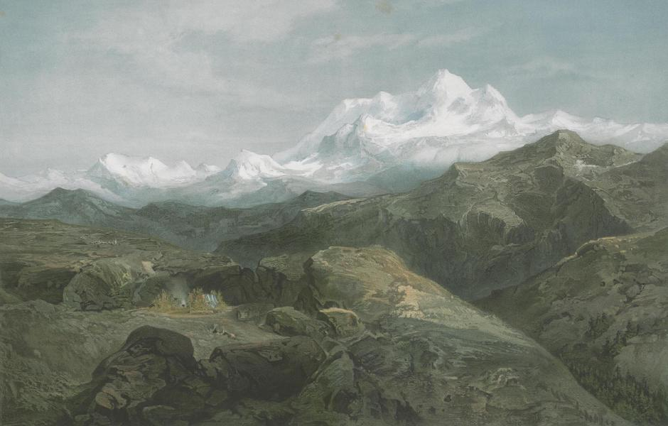 Results of a Scientific Mission to India and High Asia Atlas - Gaurisankar or Mount Everest in the Himalaya of Nepal (1866)
