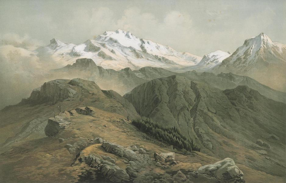 Results of a Scientific Mission to India and High Asia Atlas - The Summit of Kanchinjinga in the Himalaya of Sikkim (1866)