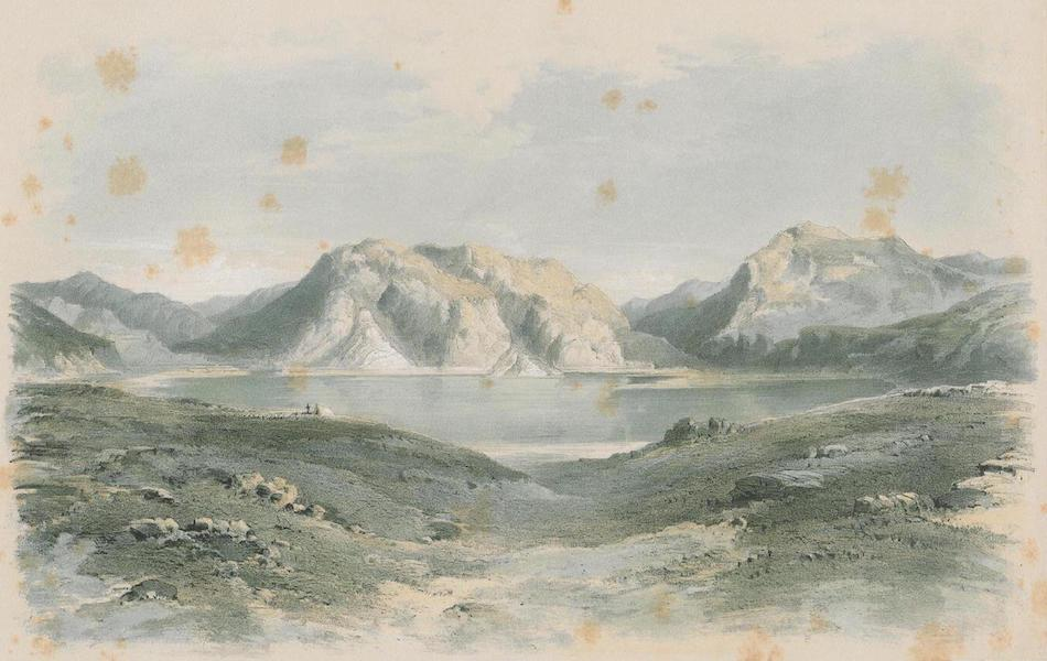 Results of a Scientific Mission to India and High Asia Atlas - The Salt Lake Tso Mitbal in Pangkong Tibet (1866)