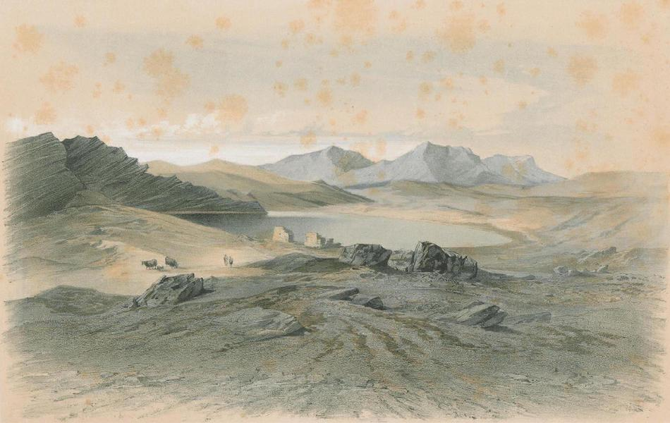 Results of a Scientific Mission to India and High Asia Atlas - The Salt Lake Tso Gam in Eastern Ladak Tibet (1866)