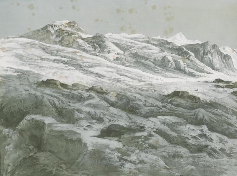Results of a Scientific Mission to India and High Asia Atlas - The Peaks and Glaciers of the Sasser Pass in Nuba Tibet [I] (1866)