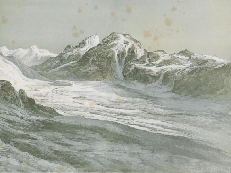 Results of a Scientific Mission to India and High Asia Atlas - The Peaks and Glaciers of the Sasser Pass in Nuba Tibet [II] (1866)