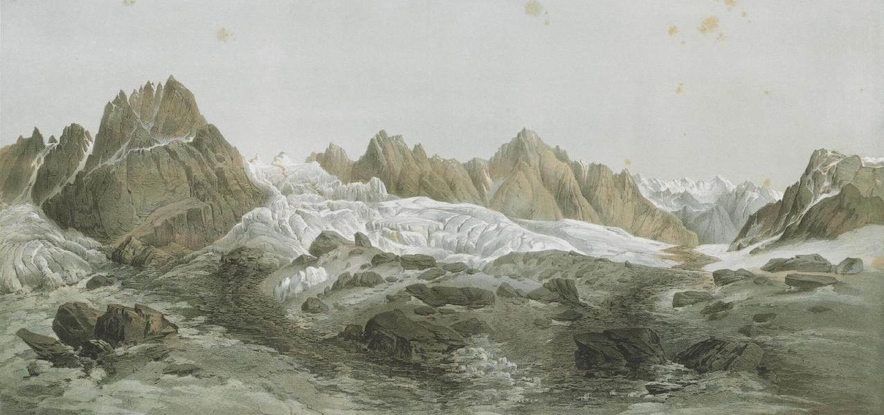 Results of a Scientific Mission to India and High Asia Atlas - The Chorkonda Glacier in Balti Tibet (1866)