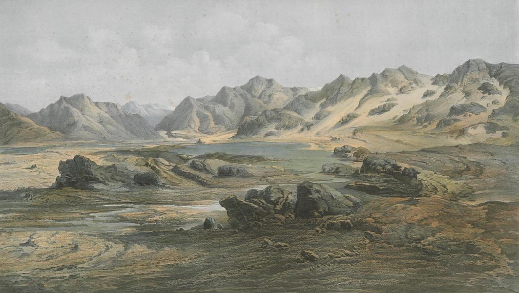 Results of a Scientific Mission to India and High Asia Atlas - The Salt Lake Kiuk Kiol in the Karakash Valley Turkistan (1866)