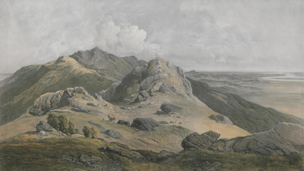 Results of a Scientific Mission to India and High Asia Atlas - The Summit of Parisnath in Bahar (1866)