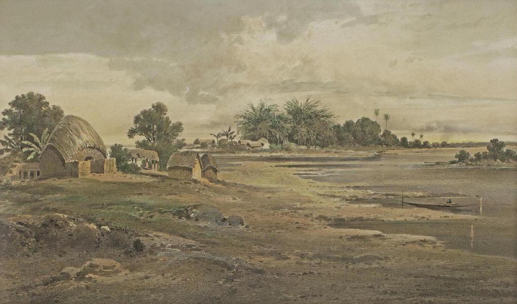 Results of a Scientific Mission to India and High Asia Atlas - The Mahanadi River in the Rainy Season Central Bengal (1866)