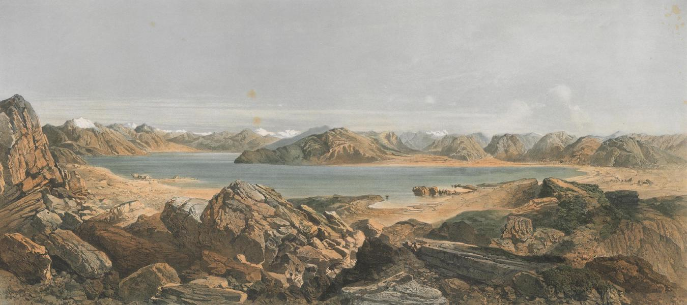 Results of a Scientific Mission to India and High Asia Atlas - The Salt Lake Tsomoriri in Rupchu Western Tibet (1866)