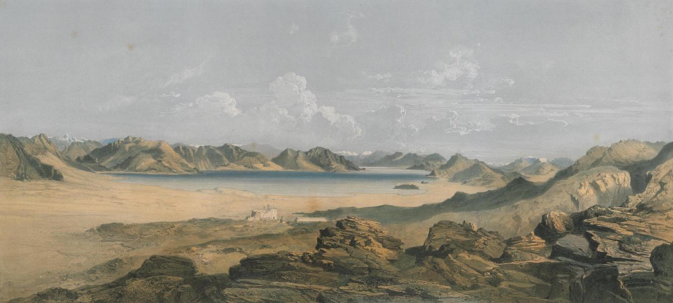 Results of a Scientific Mission to India and High Asia Atlas - The Salt Lake Tsomognalari in Pangkong Western Tibet (1866)