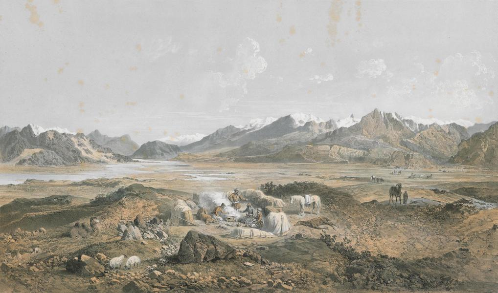 Results of a Scientific Mission to India and High Asia Atlas - The Chain of the Kuenluen from Sumgal in Turkistan (1866)