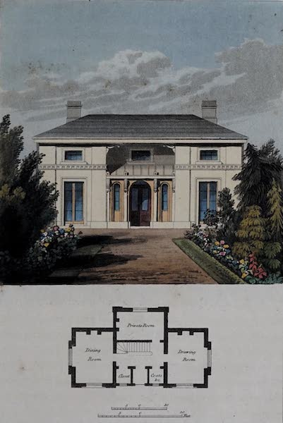 Retreats : A Series of Designs - Grecian Cottage (1827)