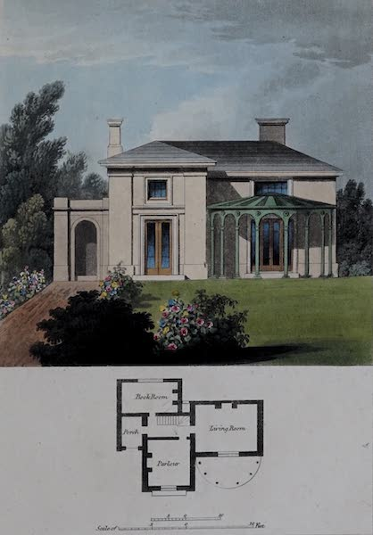 Retreats : A Series of Designs - Rural Cottage (1827)