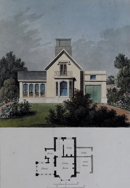Retreats : A Series of Designs - Gothic Cottage (1827)