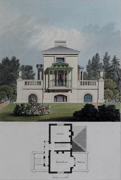 Retreats : A Series of Designs - Regular Cottage (1827)