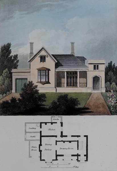 Retreats : A Series of Designs - Irregular Cottage (1827)
